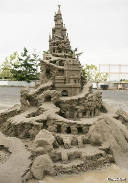 World Championship Sand Castle