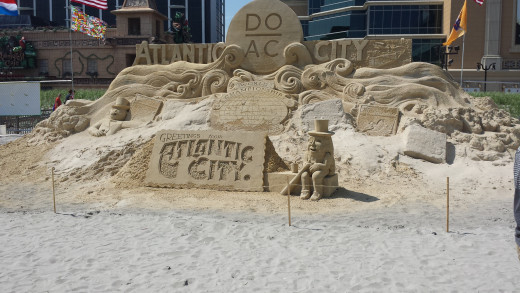 Atlantic City Sand Sculpture