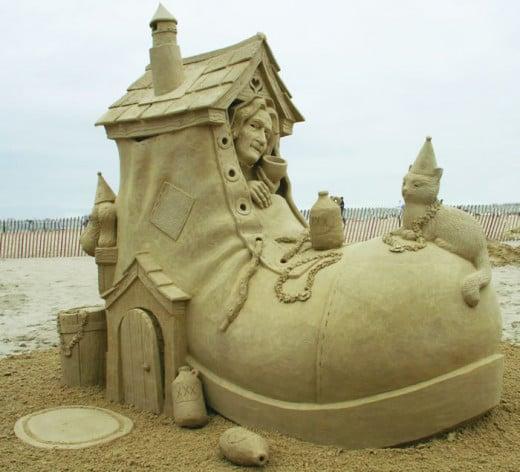 2011 Sand Sculpture