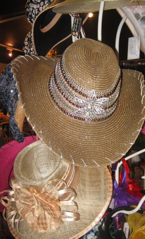 Classic straw hat.