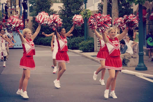 Cheerleaders make players stay motivated. Find your inspiration to stay motivated.