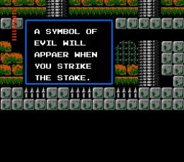 Thanks for the advice. What the hell does that mean? The game is full of nonsensical clues like this. They're really just poor translations. They could have just left the game in the original Japanese and it would have been just as helpful.
