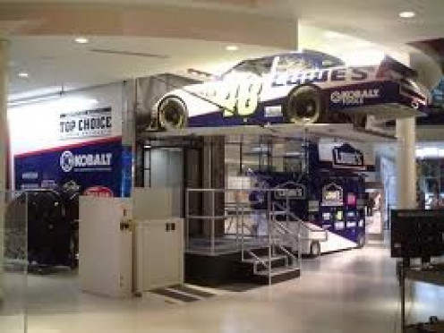 The NASCAR Hall of Fame is a racing fans dream come true and taking pictures is welcome for visitors.