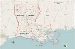 Waterfowl Zone Map