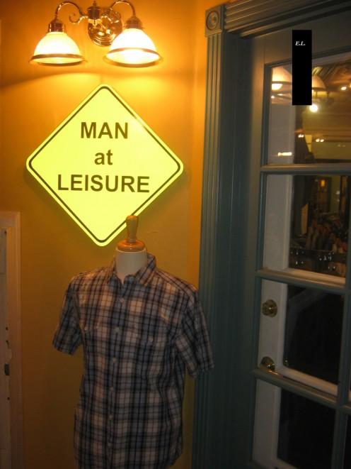 Men at Leisure