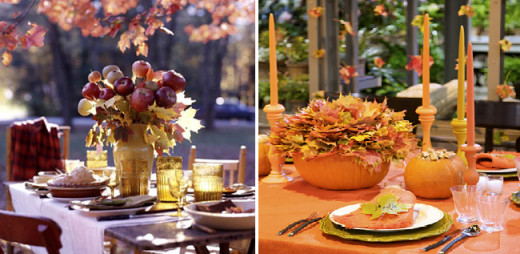 Fall Themed Housewarming Party - Indoors and Outdoors