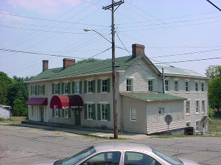 Likely early tavern/inn in downtown historic Morristown... buildings market 1807 into 1830s