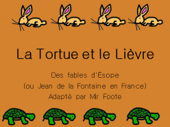French Lessons through Stories: La Tortue et le Lièvre