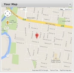 How to Load Google Map into JQuery Dialog