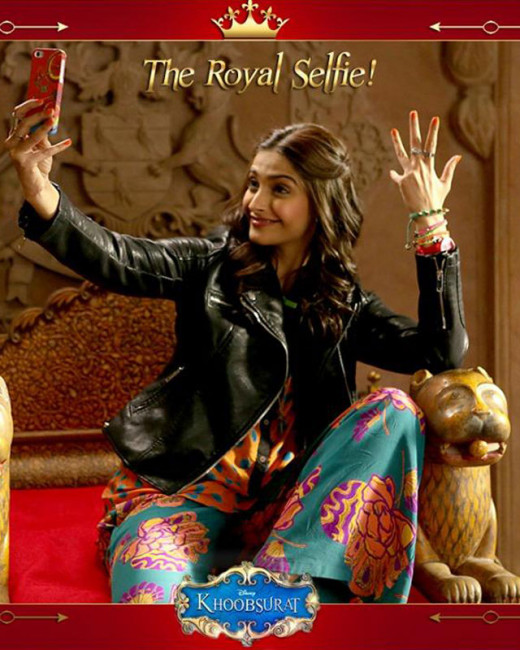 Here's a look at the fun-filled posters of Khoosurat featuring Sonam Kapoor and Fawad Khan. Directed by Shashanka Ghosh, the film will hit the theaters on 19th of September.Latest news on Biscoot Showtym.