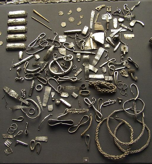 The Cuerdale Hoard: Viking silver from the British Museum, buried in 905 AD and discovered in 1840