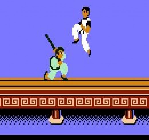 "This guy had a stick, which is clearly one of the best weapons to use against any Kung Fu master. Stick is clearly better than ""gun."""