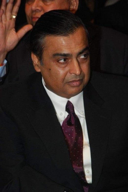 Mukesh Ambani CNBC India Business Leader Awards 2010