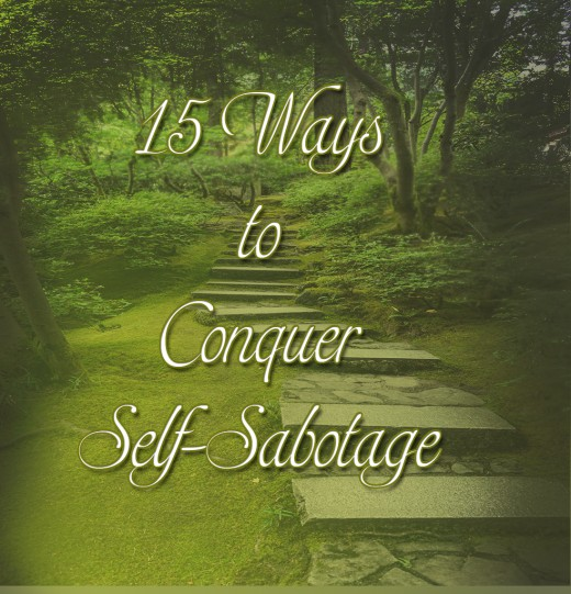 how to stop self-sabotaging behaviors