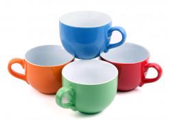 Soup Bowls With Handles & Lids