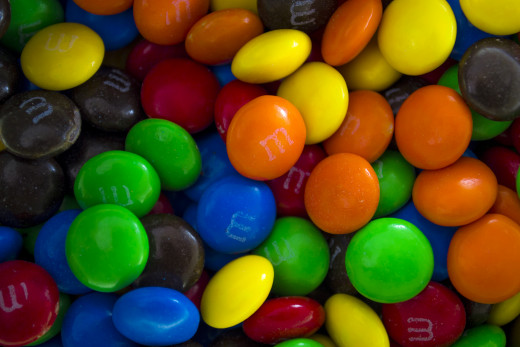 M&M candies are a favorite treat among many.