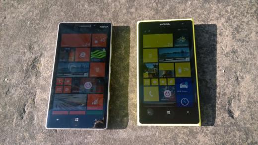 930& 1020 in bright sunlight