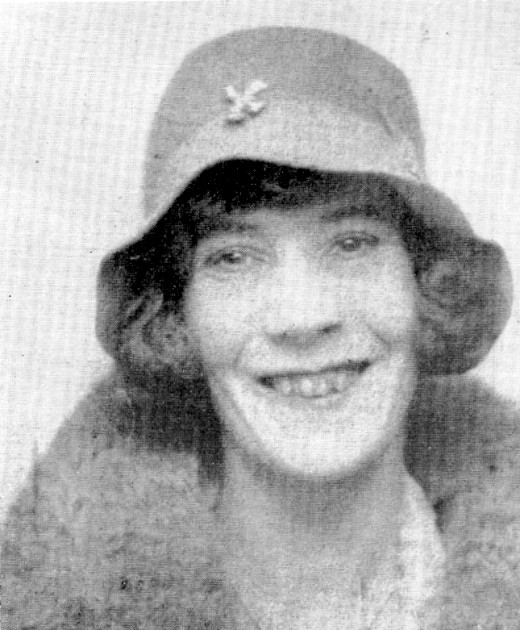 The victim in the Brighton Trunk Murders, Violette Kaye.