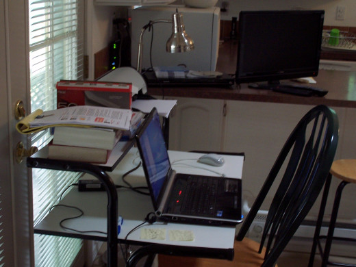 This is where I write but it is not my base of operations