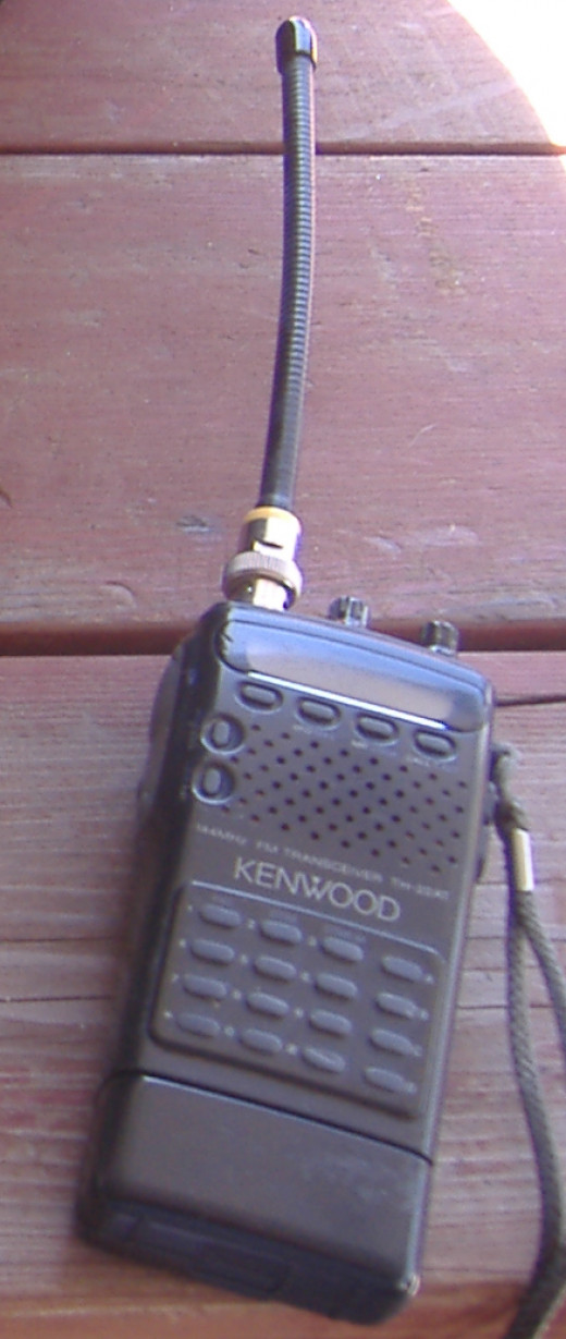 A 2 meter hand held radio is a good starting place and is far more adaptable than many amateur radio enthusiasts would have you believe.