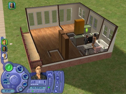 The SIMS is a complex game with puzzles, simulation, role playing, and strategy.  Use printed, online, and video guidance to help you  win the game.