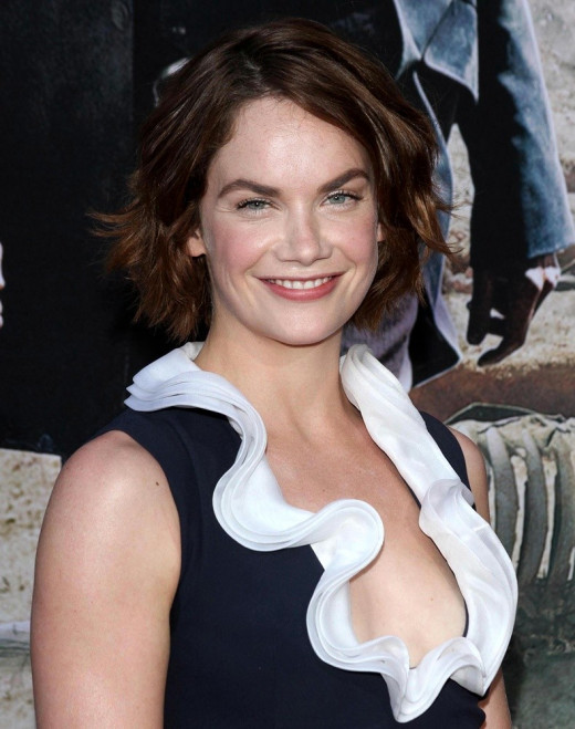 Ruth Wilson stars in Luther available on Netflix