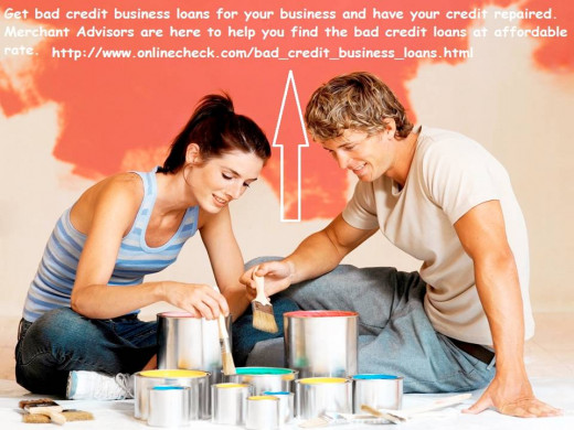 Get bad credit business loans for your business and have your credit repaired. Merchant Advisers are here to help you find the bad credit loans at affordable rate.
