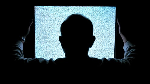 watching excessive television can be a sign of addiction