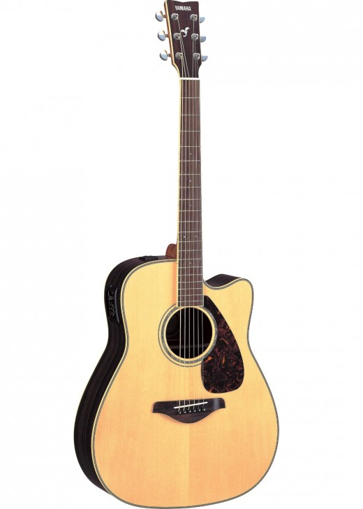 The Yamaha FGX730SC is one of the best acoustic-electric guitars under $500.