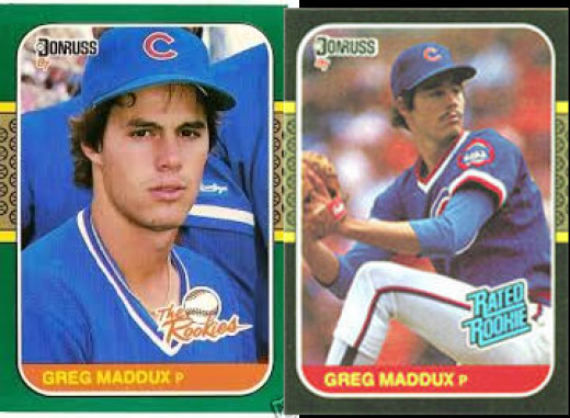 1987 Donruss and 1987 Donruss The Rookies - both in the $10 range.