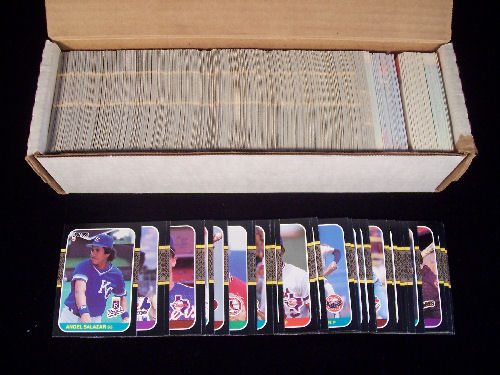 Includes Maddux, Bonds, Bo, Cone, Palmeiro, Larkin, and other RCs and Mark McGwire - I had 3 of these in the lot and 5 The Rookies sets.