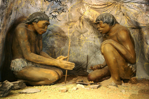 Our ancestors figuring out things so we don't have to.   Source:  Wikimedia Commons