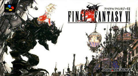 Final Fantasy VI Japanese Boxart