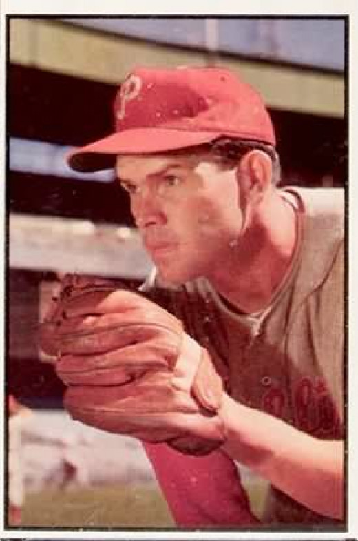 Robin Roberts was, along with Warren Spahn, one of the most dominant National League pitchers in the 1950s. By 1961, he had lost effectiveness.