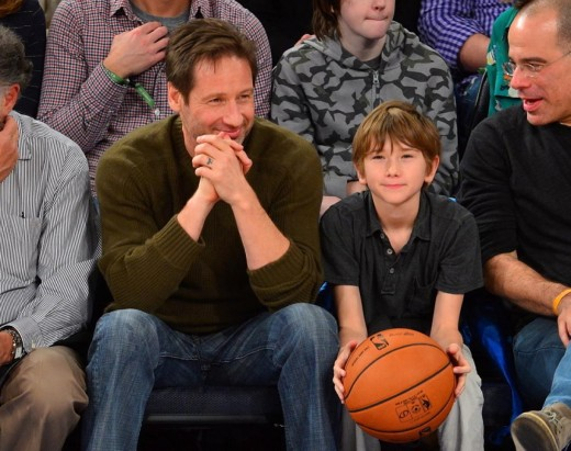Kyd and David Duchovny