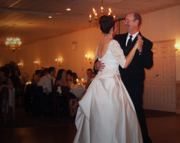 A father daughter dance is a sweet way to thank a supportive dad.