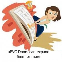 My uPVC Door will not close or open properly