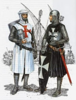 Templars Change the Face of Knighthood; a treatise on their rise and fall