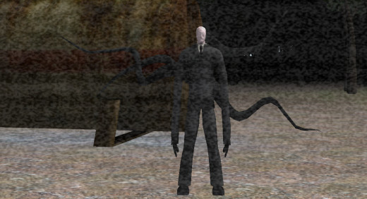Mister tall dark and faceless himself.  If you're seeing him this close, it's already too late.