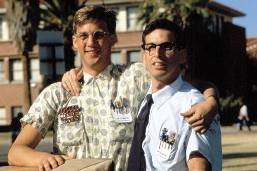 The 1984 movie regarded as a classic, depicts a group of nerds' struggle for acceptance at their school