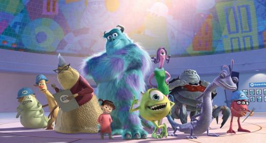 Pixar's Monsters, Inc.