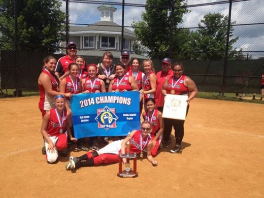 The Waretown Thunder 16-U squad captured the BRL Mid-Atlantic Regional two weeks ago, and are headed to Pittsfield, Mass., for the World Series.