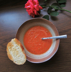 Fresh Garden Tomato Soup Recipe