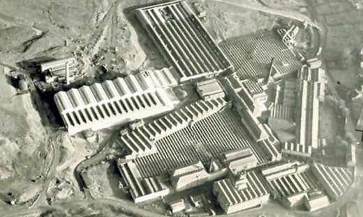 The Turners Brothers Asbestos factory in its prime