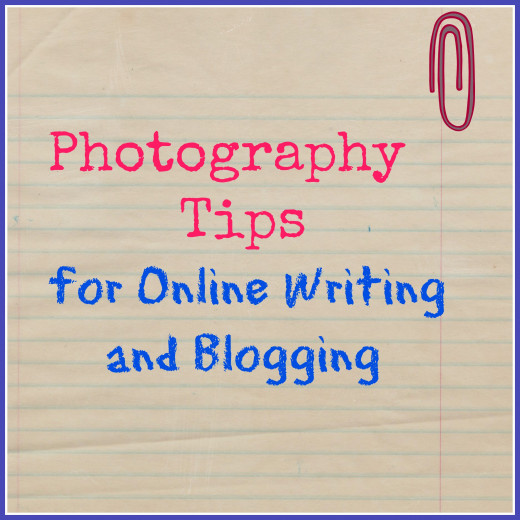 Using free editing software and clean backgrounds help improve photos that go along with your writing.