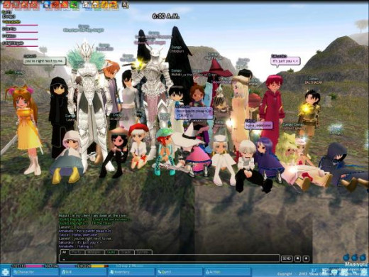 Mabinogi is a super complete game and one of the most successful.