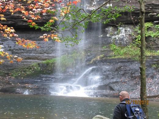 The Reward After a Short Hike - A Beautiful Waterfall