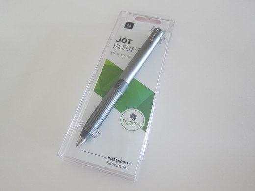 Packaging for the Jot Script Evernote edition
