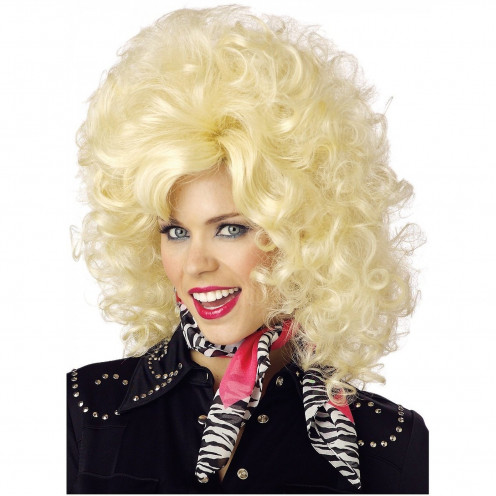 Country Western Diva Wig Costume Accessory