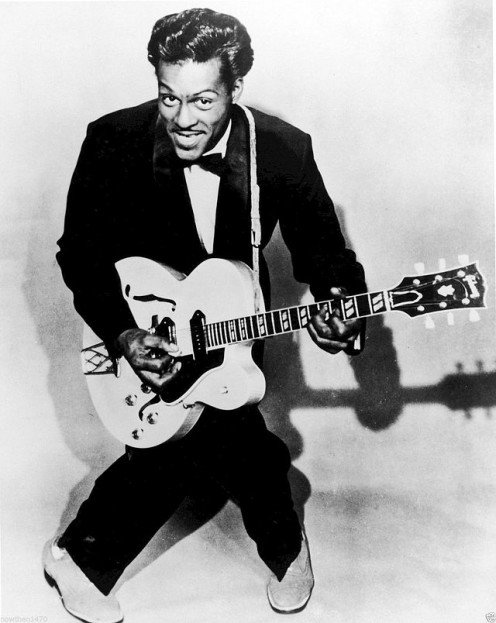 Singing artist Chuck Berry